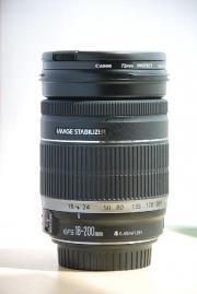 ขายเลนส์ Canon  EFS 18-200  mm F3.5-5.6 IS เลนส์ใสเหมือนของใหม่มากๆๆๆ