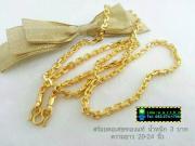 - : สร้อยคอ - ทองคำ จากเศษทองคำเยาวราช -> Line : e_a_r_t_h_z , Tel : 083-274-1706