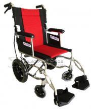 รถเข็นพกพา พับขาได้ KIMBER (Portable Alloy Wheelchair) (WS-02)